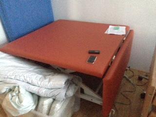The new, foldable Vojta-table