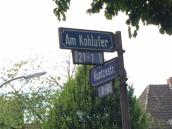 The street where I lived
