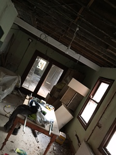 Kitchen: no ceiling no more