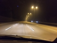 No cars on the 5 lane M25!
