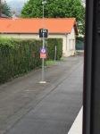 Our 'slow train' at Lourdes' TGV stop