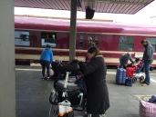 Arrival in Düsseldorf